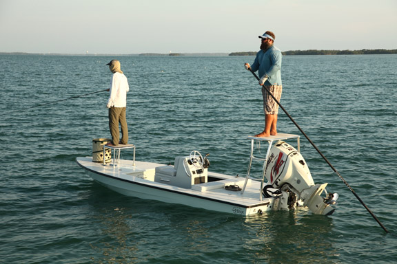 Fly fishing for tarpon in key west and florida keys for Key west fishing boats