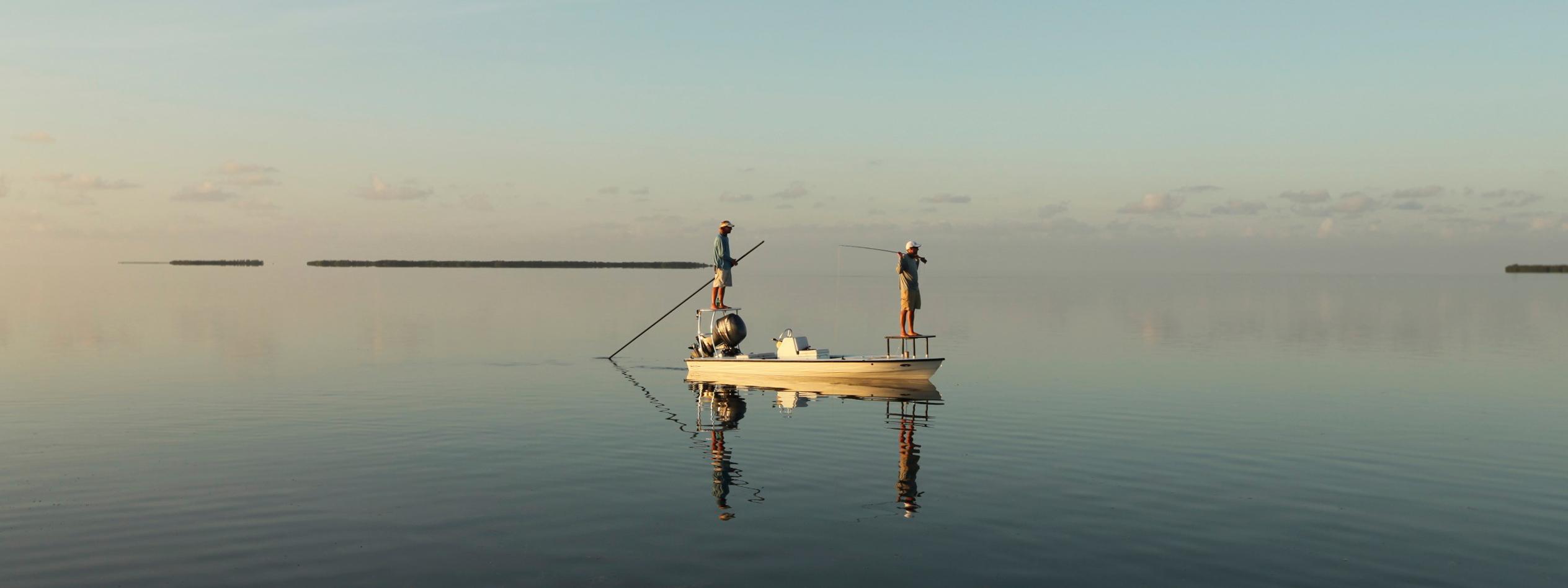 Dawn Patrol fly fishing for tarpon