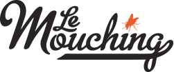 French fly fishing company Le Mouching logo