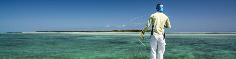 fly fishing for tarpon in Key West on the oceanside near Boca Grande